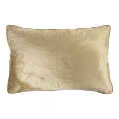 Gross kissen samt gold 40x60cm