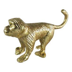Kleiderhaken affe gold
