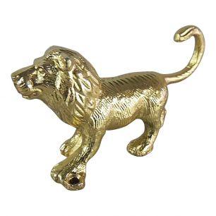 Kleiderhaken löwe gold