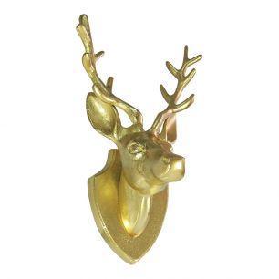 Gold hirschkopf 33cm