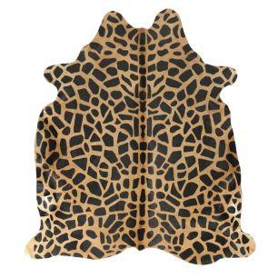 Teppich kuh giraffendruck