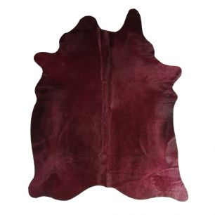 Teppich kuh farbe bordeaux