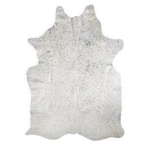 Teppich kuh farbe silber