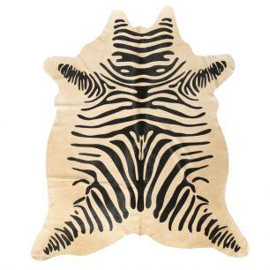 Teppich kuh zebradruck