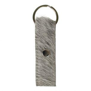 Schlüsselanhänger mann grau