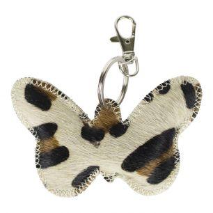 Schlüsselanhänger schmetterling panther