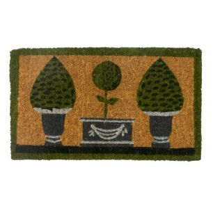 Kokosmatte handgemacht 3 topiary