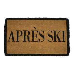 Kokosmatte handgemacht apres ski