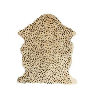 Fell ziege leopard braun 60x90cm