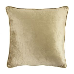 Kissen samt gold 45x45cm